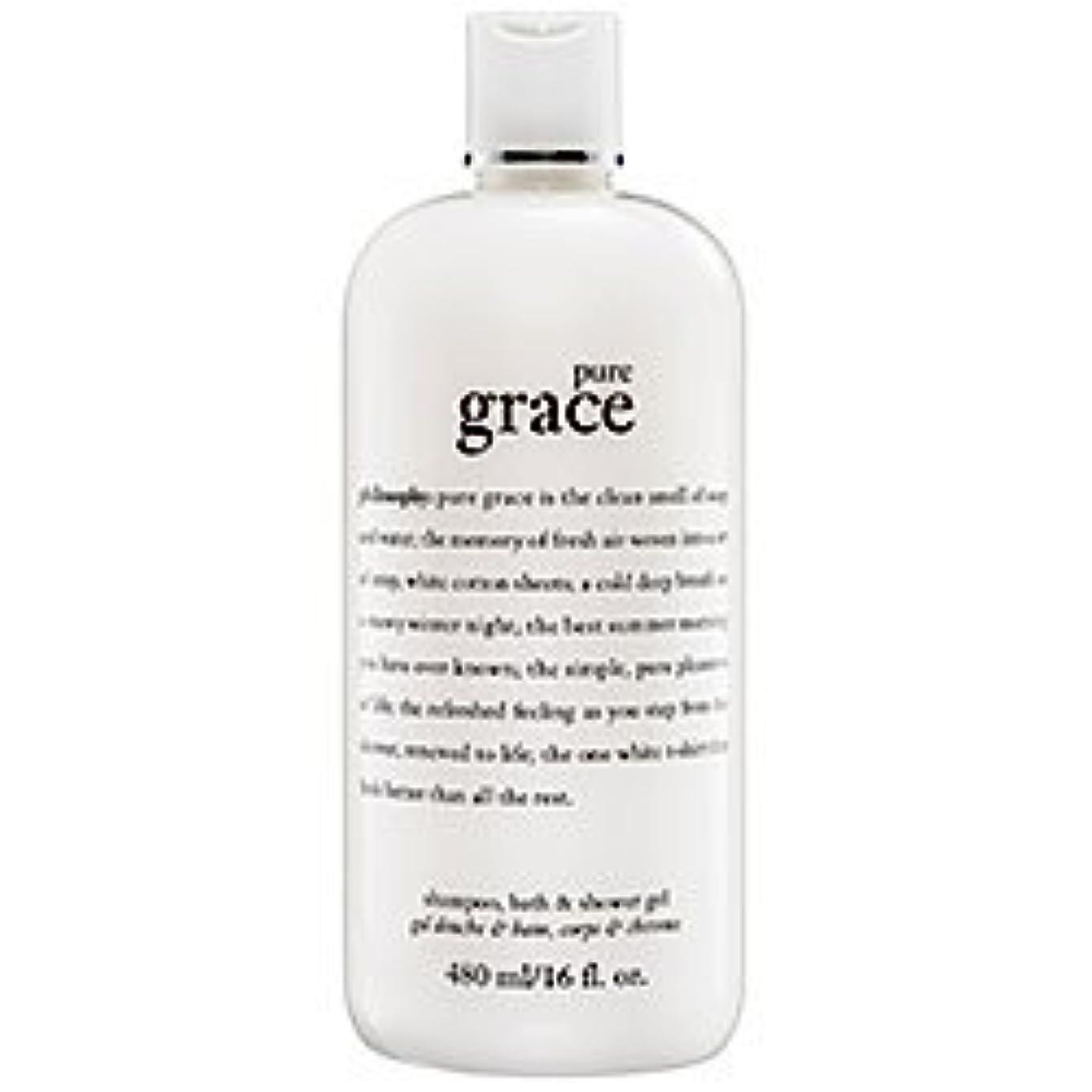 操る霊配偶者pure grace (ピュアグレイス ) 16.0 oz (480ml) foaming bath and shower gel for Women