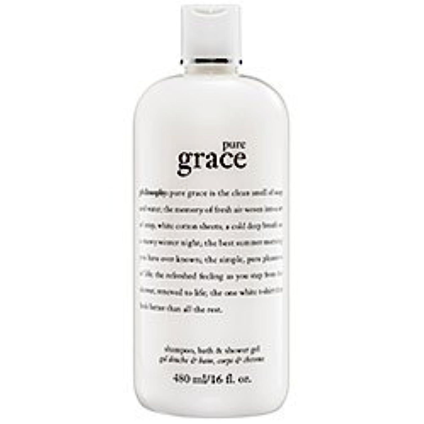 気になる取り付け思い出pure grace (ピュアグレイス ) 16.0 oz (480ml) foaming bath and shower gel for Women