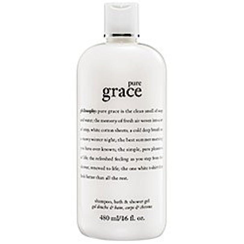 鉱夫乗算釈義pure grace (ピュアグレイス ) 16.0 oz (480ml) foaming bath and shower gel for Women