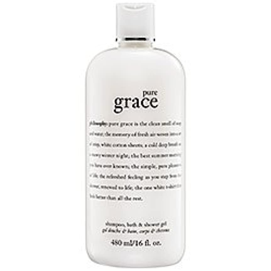 吸収する鋸歯状等pure grace (ピュアグレイス ) 16.0 oz (480ml) foaming bath and shower gel for Women
