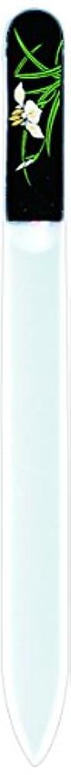 爆発するもろいチャールズキージング橋本漆芸 ブラジェク製高級爪ヤスリ 五月 菖蒲 紙箱