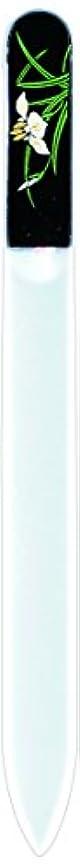 品種資本アルファベット橋本漆芸 ブラジェク製高級爪ヤスリ 五月 菖蒲 紙箱