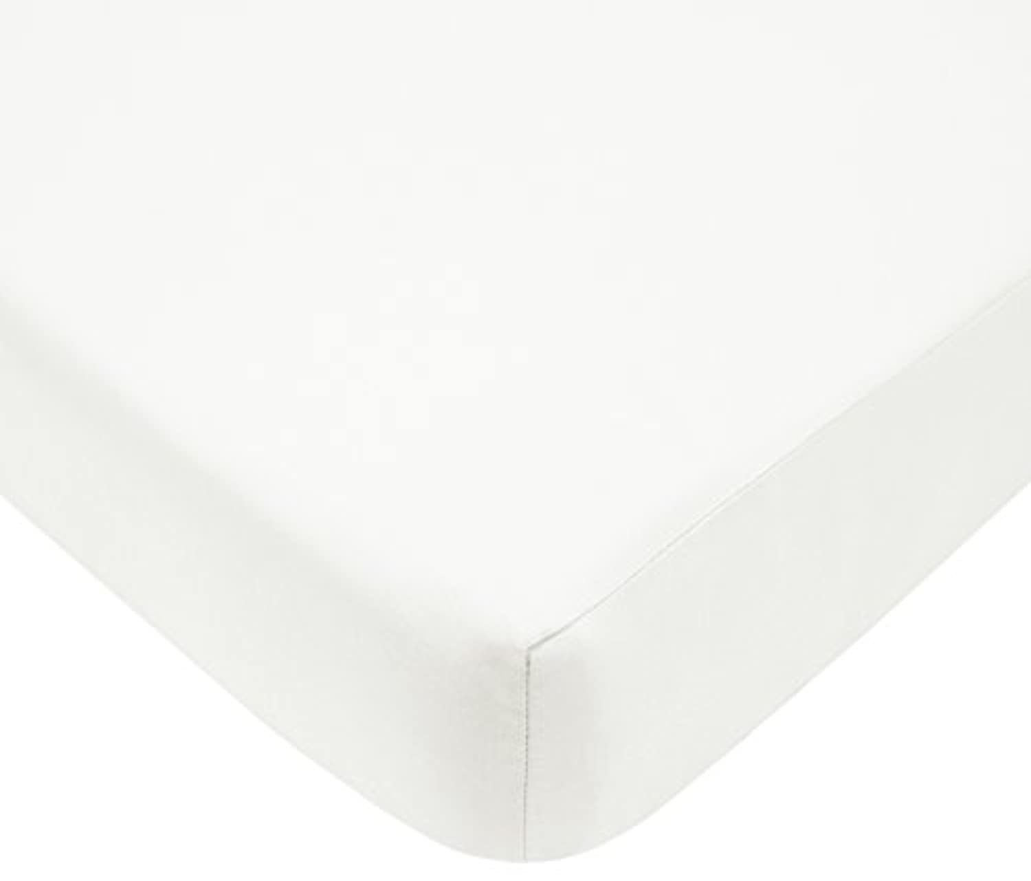 American Baby Company Fitted Crib Sheet - Natural by American Baby Company