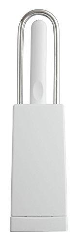 [해외]슬림 컴팩트 화장실 브러쉬 케이스 화이트 TP001/Slim compact toilet brush with case White TP001