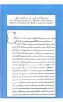 A Transcription of the Latin Writings of St. Patrick from Seven Medieval Manuscripts: Dublin, Paris, London, Rouen, Aaras, Salisbury