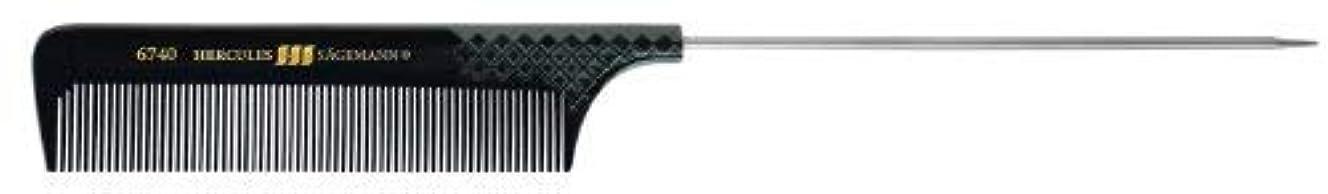 迫害さらにしないでくださいHercules sagemann Fine Metal Pin Tail Hair Comb, Length-23.5 cm [並行輸入品]