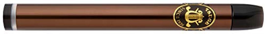 矢動機付ける時間柘製作所(tsuge) Ploom TECH 用アクセサリー 浅草柘 電気シガー [ バレット(BULLET) ] ブラウン #80004