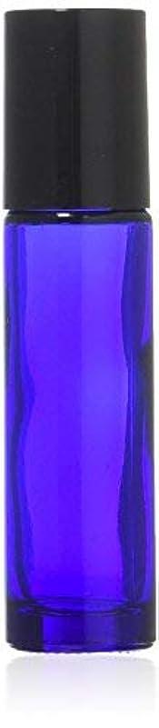 不透明な模索男性True Aroma, 24 pcs, 10ml Cobalt Blue Glass Roller Bottles with Stainless Steel Roller Ball for Essential Oil -...
