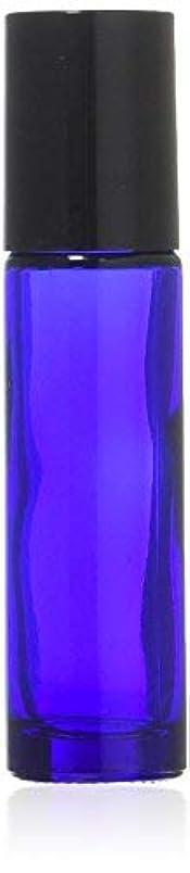 つづりヘルメット浪費True Aroma, 24 pcs, 10ml Cobalt Blue Glass Roller Bottles with Stainless Steel Roller Ball for Essential Oil -...