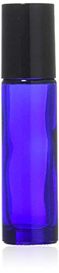 相反する必要性ホステスTrue Aroma, 24 pcs, 10ml Cobalt Blue Glass Roller Bottles with Stainless Steel Roller Ball for Essential Oil -...