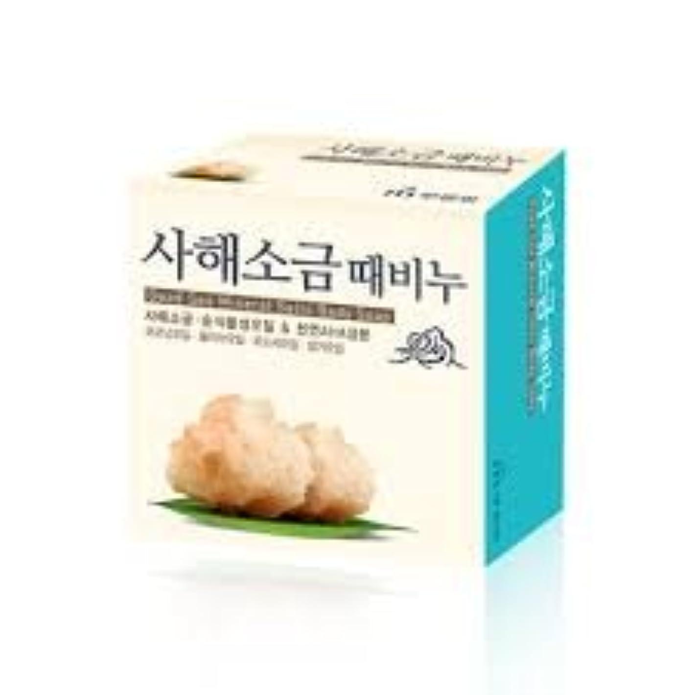 暖かさバズ司書ムグンファ[MUKUNGHWA] 死海 塩 垢石鹸 100g/ Dead Sea Mineral Salts Body Soap