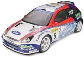 1/10 電動ラジオコントロールカー シリーズ フォードフォーカス WRC 02