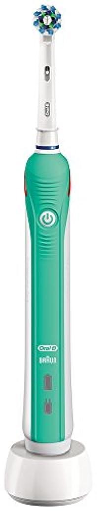 区インテリアふりをするブラウン オーラルB 電動歯ブラシ PRO 1000 D205132M GR グリーン