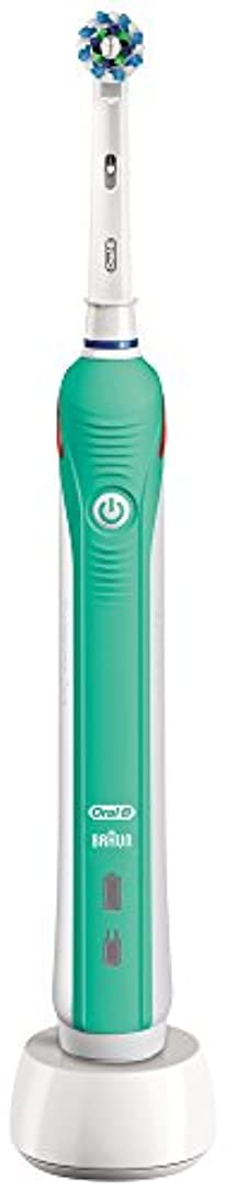 役員派生するうめきブラウン オーラルB 電動歯ブラシ PRO 1000 D205132M GR グリーン