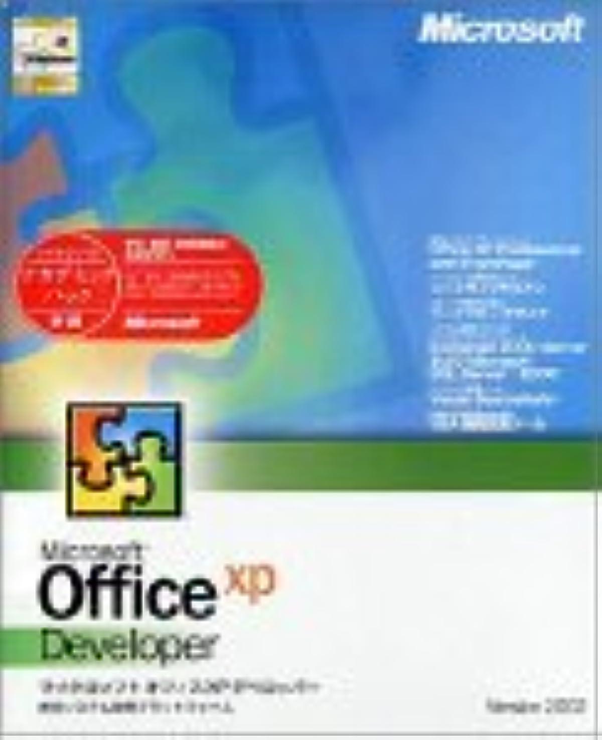 極端なミネラル漫画【旧商品】Office XP Developer アカデミック