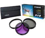 ポラロイド 55mmフィルター 3種 セット (UV, CPL, FLD)