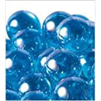ビー玉 オーロラカラーマーブル 25mm ブルー 約65入