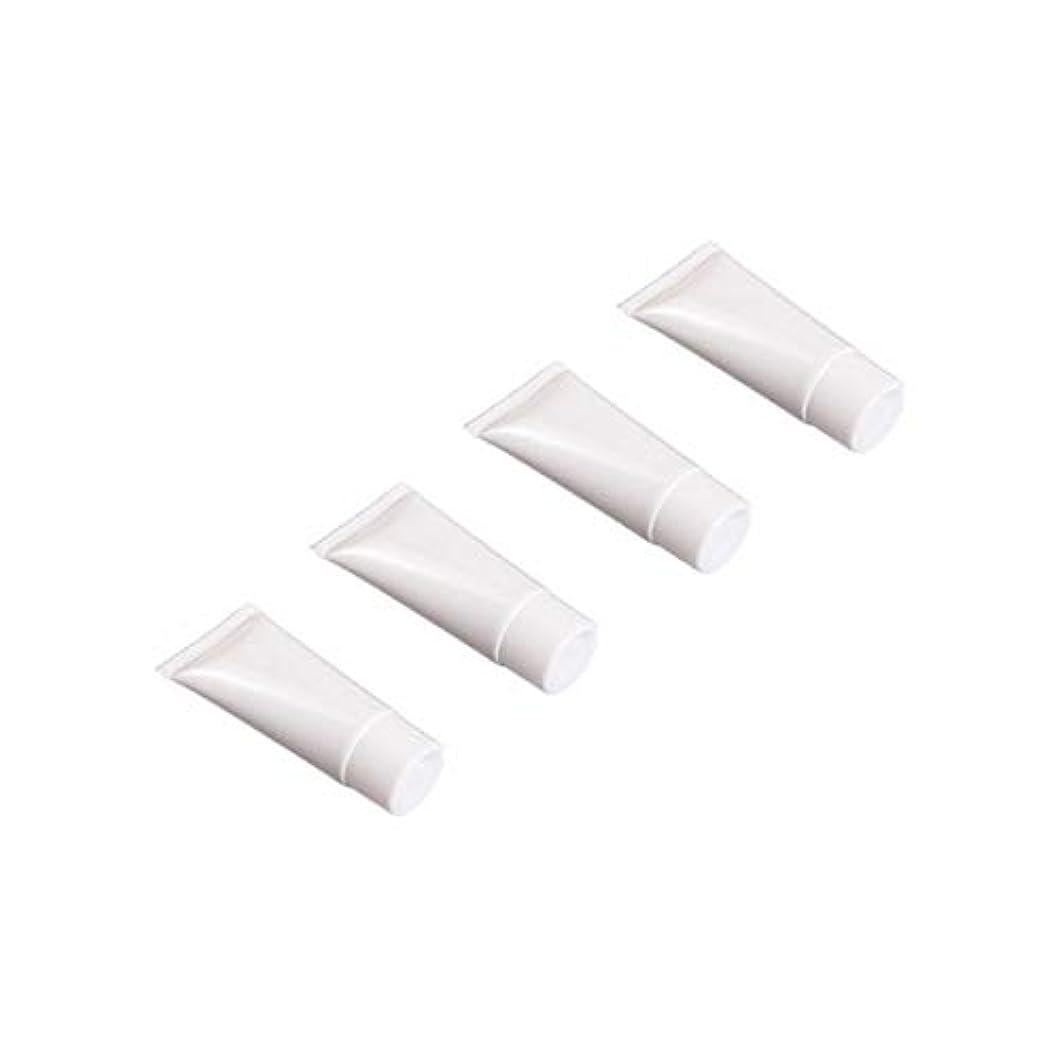 序文ベルベット泣くフリップキャップ付き空の詰め替え式の白いプラスチック製のチューブサンプルボトル - Numblartd 20個旅行用シャンプーボディハンドローションシャワージェルクレンザー用の空の絞りボトルローションボトル (30ML)