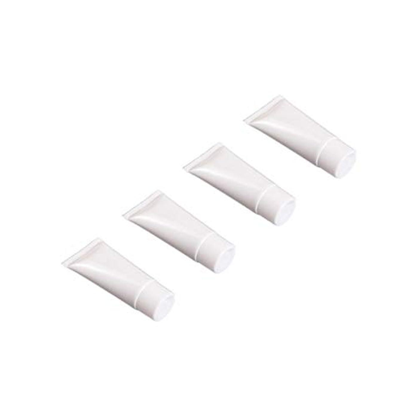 模倣液化するメンテナンスフリップキャップ付き空の詰め替え式の白いプラスチック製のチューブサンプルボトル - Numblartd 20個旅行用シャンプーボディハンドローションシャワージェルクレンザー用の空の絞りボトルローションボトル (30ML)