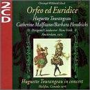 Orfeo Ed Euridice (Halifax 1976)