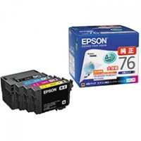 EPSON インクカートリッジ 大容量4色パック IC4CL76 1箱(4個:各色1個)
