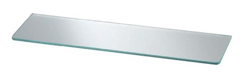 フロー私たち多分シロクマ ガラス棚板B形 600㎜ 透明 TG-120
