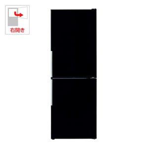 アクア 275L 2ドア冷蔵庫(プレミアムブラック)AQUA AQR-SD28C-K