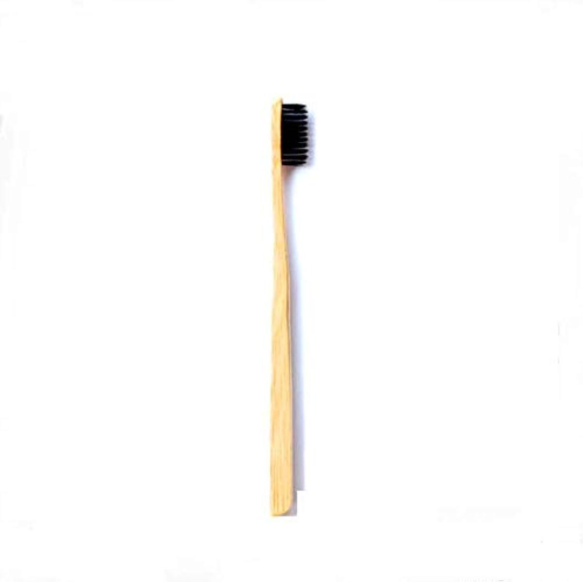 関係するゲージ透過性柔らかい毛が付いている5Pcs 竹の歯ブラシの有機性環境に優しい自然な竹の歯ブラシ
