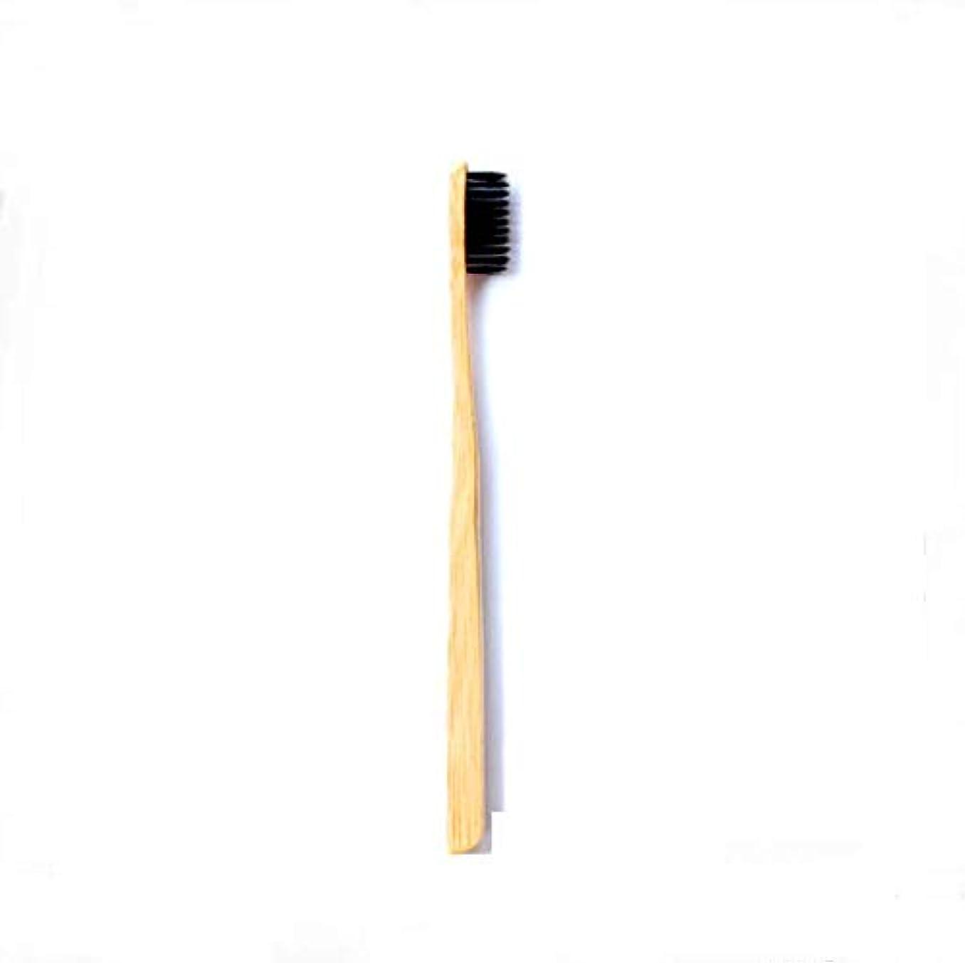 グラディス魅力的であることへのアピール悲惨な柔らかい毛が付いている5Pcs 竹の歯ブラシの有機性環境に優しい自然な竹の歯ブラシ