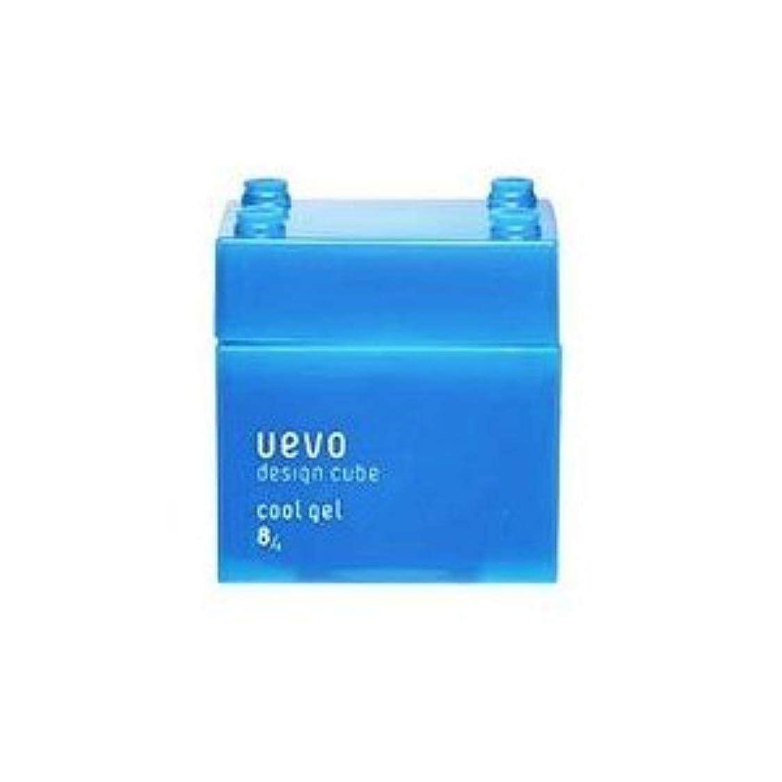 蒸発するガスうぬぼれ【X3個セット】 デミ ウェーボ デザインキューブ クールジェル 80g cool gel DEMI uevo design cube