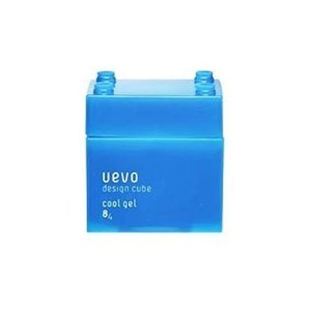 信頼性ロードブロッキングハードウェア【X3個セット】 デミ ウェーボ デザインキューブ クールジェル 80g cool gel DEMI uevo design cube