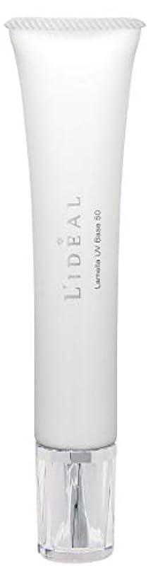不足石鹸群集リディアル (L'ideal) ラメラ UV ベース 50(SPF50/PA++++)30g [並行輸入品]