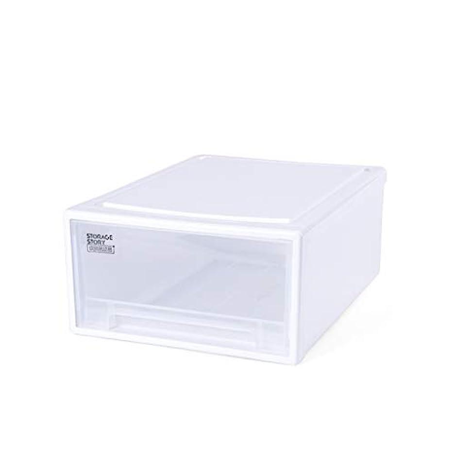 貢献小切手刑務所SMMRB 靴収納ボックス透明プラスチック靴箱、引き出しデザイン、シングル