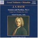 Bach: 3 Solo Sonatas/Partitas