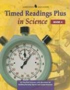 Timed Readings Plus Science  Book 4: 25 Two-Part Lessons with Questions for Building Reading Speed and Comprehension (JT: READING RATE & FLUENCY)