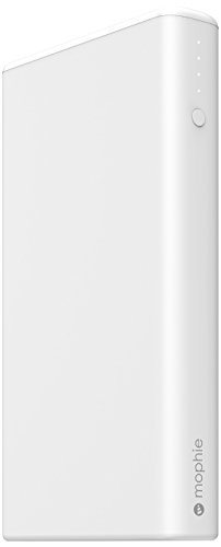 mophie power boost XXL v2 (超大容量 20800mAh USB×2ポート 急速充電対応 モバイルバッテリー) 最大4.2A出力 iPhoneAndroid対応 ホワイト 正規代理店品 MOP-BY-000160