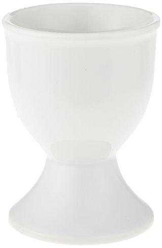 3個セット ホワイトセレクション 白エッグスタンド [4.8 x 6.5cm] 洋食器 カフェ レストラン コーヒー 業務用 ホテル