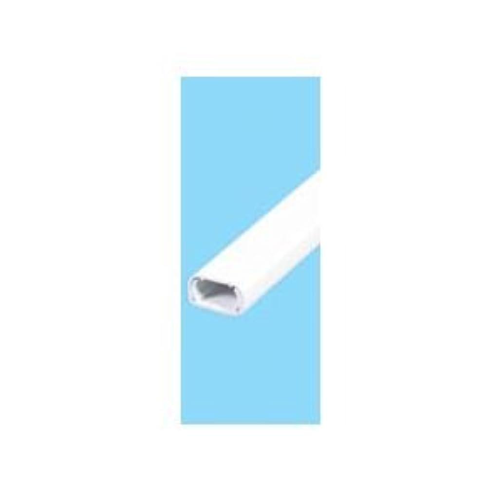 一瞬四分円称賛(業務用セット) ELPA ABSモール ホワイト 1号 1m 吊下げ テープ付 MH-T11H(W) 【×30セット】