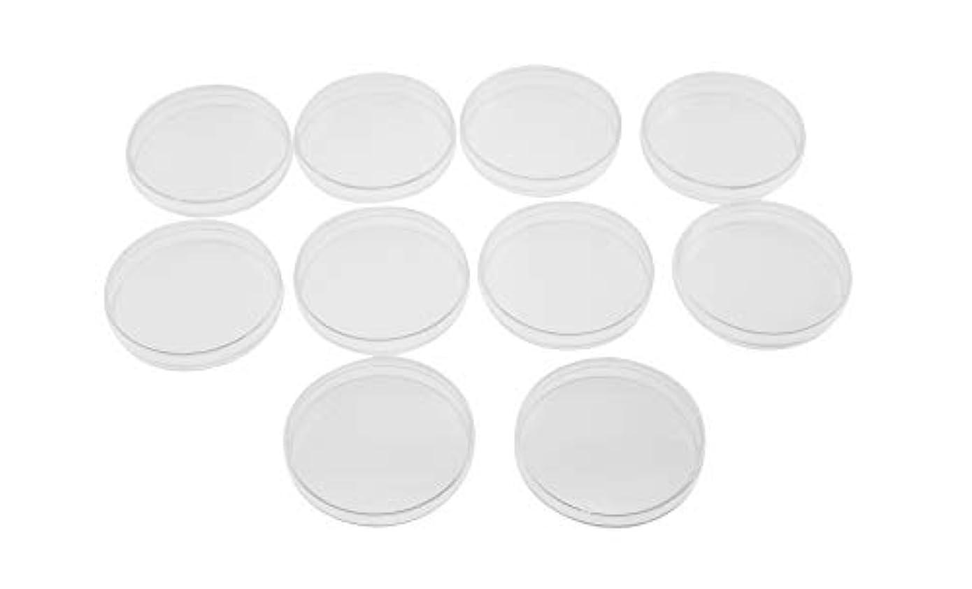 分子腸トンOlive-G ペトリ皿 シャーレ 細胞 培養 用 90mmx15mm プラスチック クリア 容器 10個