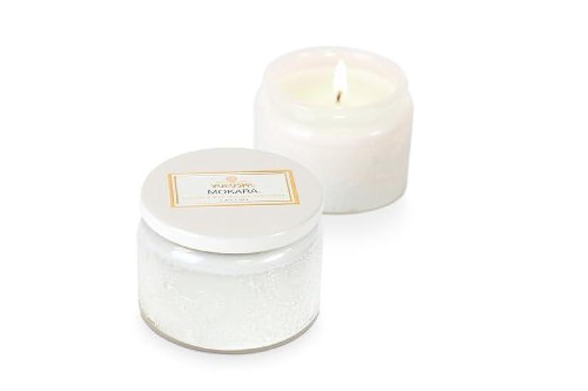タック球状窒素Voluspa ボルスパ ジャポニカ グラスジャーキャンドル S モカラ JAPONICA Glass jar candle MOKARA