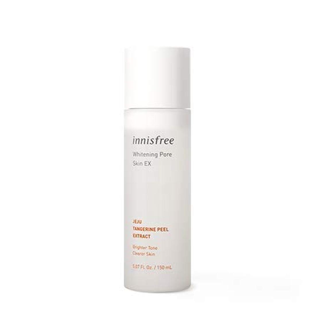 全部失望マウント[イニスフリー.INNISFREE]ホワイトニングポアスキンEX150mL(2019年アップグレード)/ Whitening Pore Skin