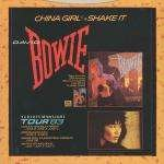 "China Girl - David Bowie 7"" 45"