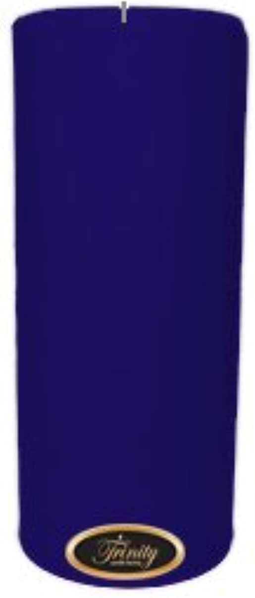 反逆者金貸し遺伝的Trinity Candle工場 – Blueberry Fields – Pillar Candle – 4 x 9