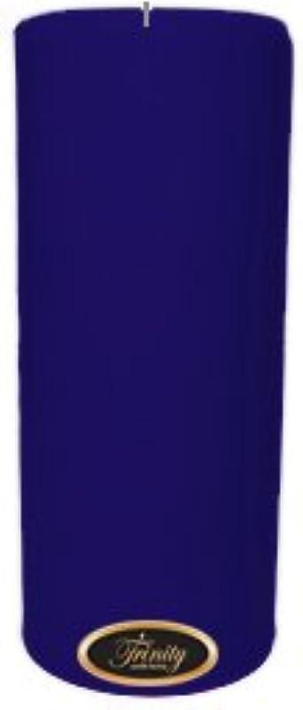 観光に行く感謝するセッティングTrinity Candle工場 – Blueberry Fields – Pillar Candle – 4 x 9