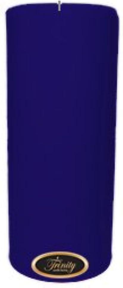 多年生結果として二度Trinity Candle工場 – Blueberry Fields – Pillar Candle – 4 x 9