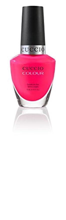 ハッチ人物脅かすCuccio Colour Gloss Lacquer - Double Bubble Trouble - 0.43oz / 13ml