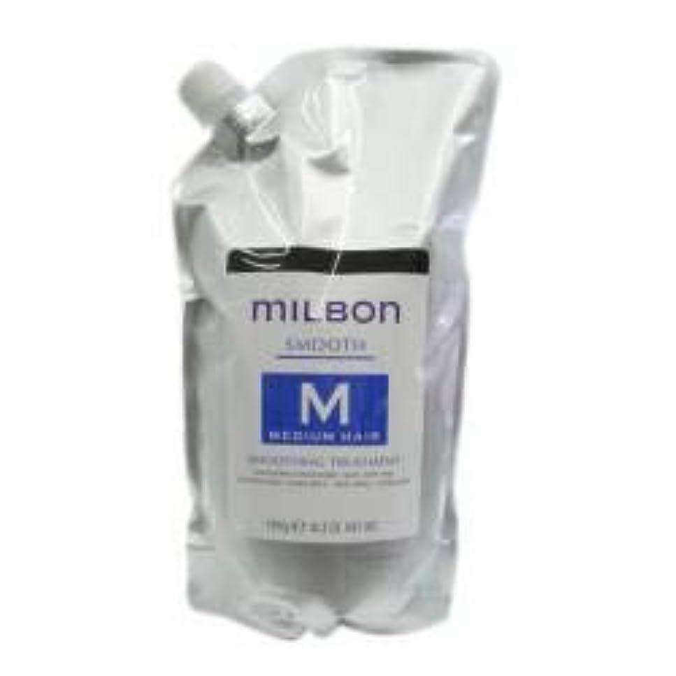 モバイル圧縮するラリーベルモントミルボン スムージング トリートメント<つめかえ用> ミディアムヘア(1000g)