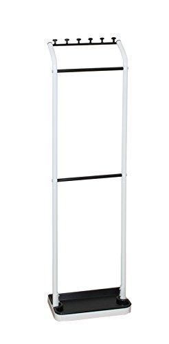 平安伸銅工業 傘立て ホワイト・ブラック 耐荷重3kg H-3