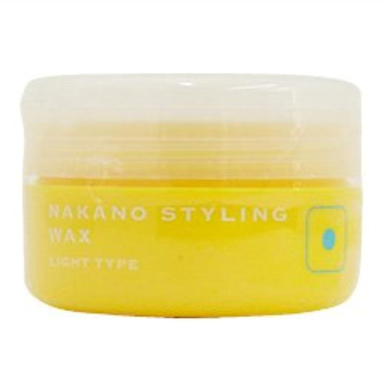 ドラッグ敵意油ナカノ スタイリングワックス 1 ライトタイプ 90g 中野製薬 NAKANO