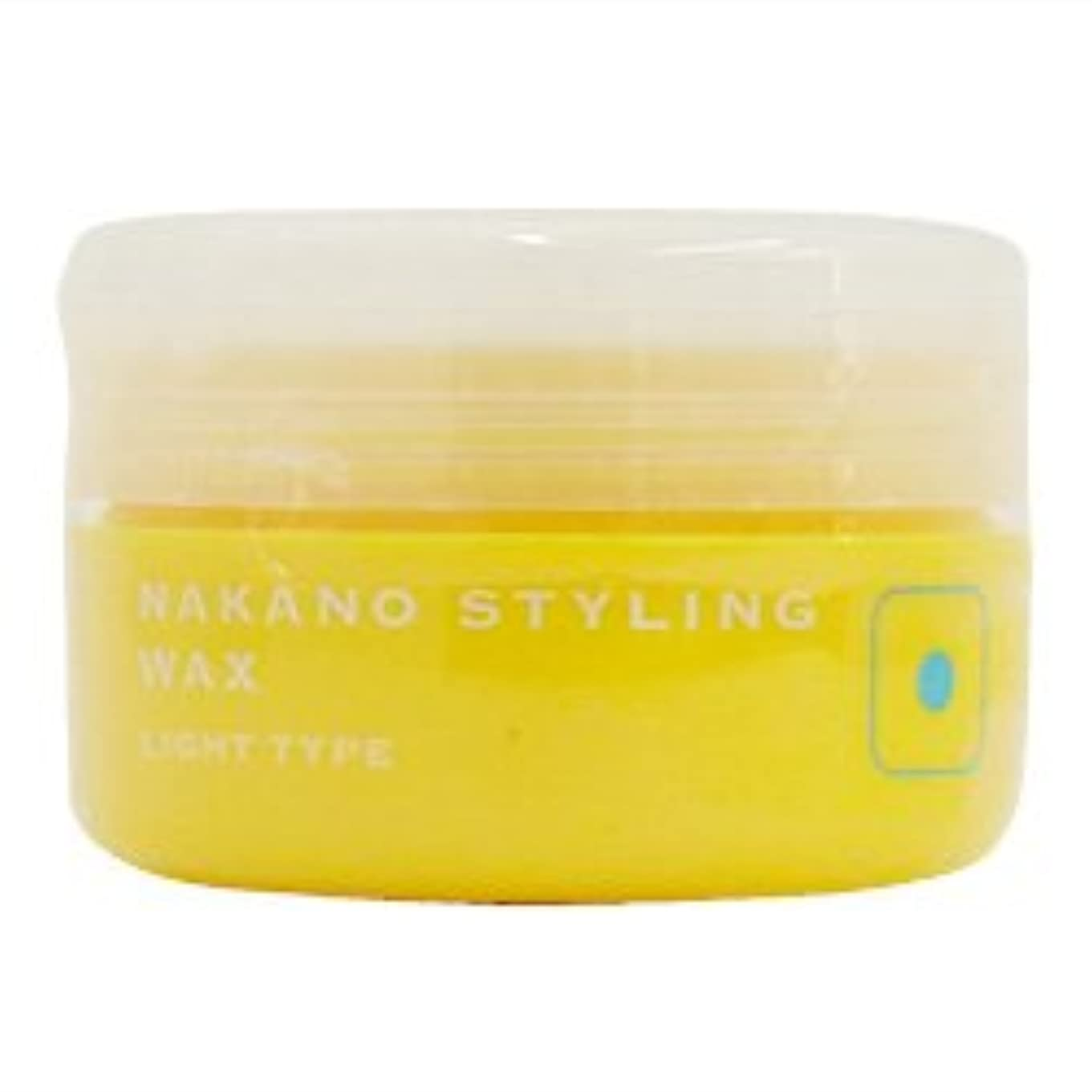 魅力的男性アリナカノ スタイリングワックス 1 ライトタイプ 90g 中野製薬 NAKANO